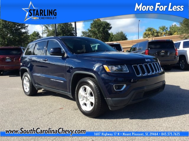 Pre-Owned 2016 Jeep Grand Cherokee Laredo RWD 4D Sport Utility