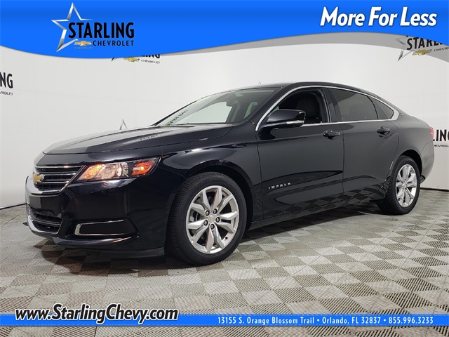 Certified Pre-Owned 2017 Chevrolet Impala LT