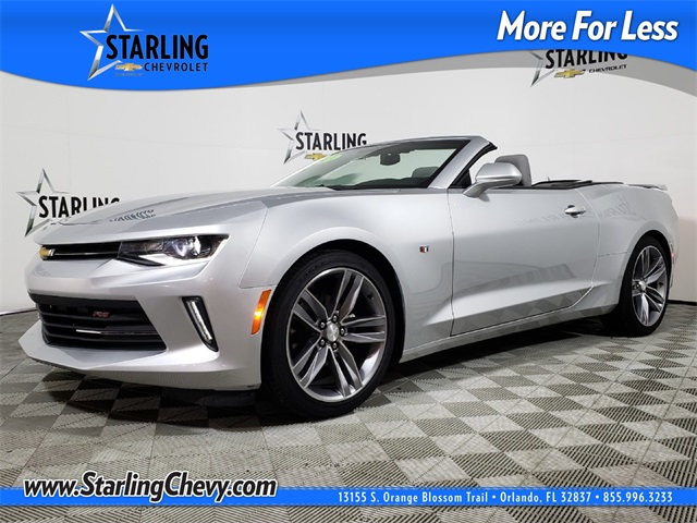 Certified Pre-Owned 2018 Chevrolet Camaro 1LT RWD 2D Convertible