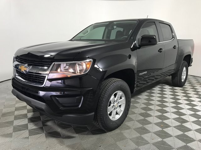 New 2019 Chevrolet Colorado Work Truck RWD 4D Crew Cab