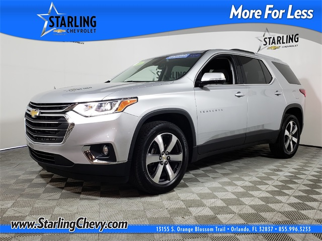 Certified Pre-Owned 2018 Chevrolet Traverse LT Leather FWD 4D Sport Utility