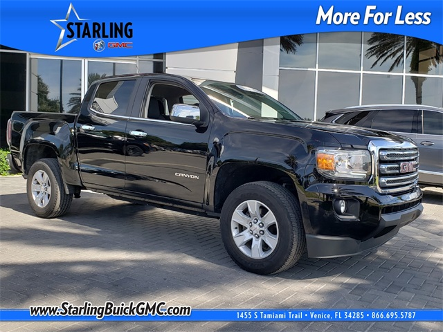 Certified Pre-Owned 2015 GMC Canyon SLE1 RWD 4D Crew Cab
