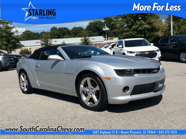Pre-Owned 2015 Chevrolet Camaro 1LT RWD 2D Convertible