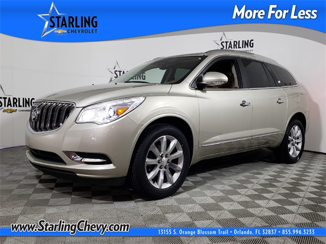 Certified Pre-Owned 2015 Buick Enclave Premium Group FWD 4D Sport Utility