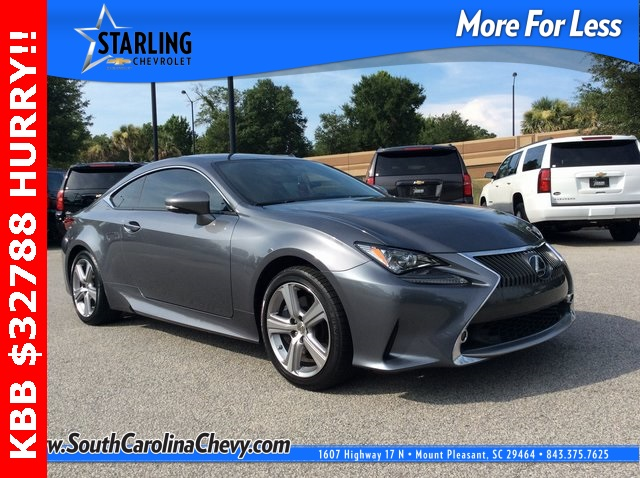 Pre-Owned 2015 Lexus RC 350 RWD 2D Coupe