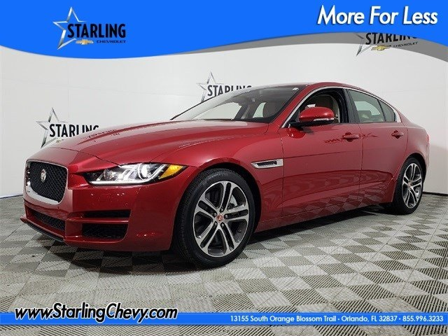 Pre-Owned 2017 Jaguar XE 35t Premium RWD 4D Sedan