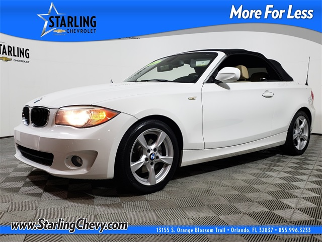 Pre-Owned 2012 BMW 1 Series 128i RWD 2D Convertible