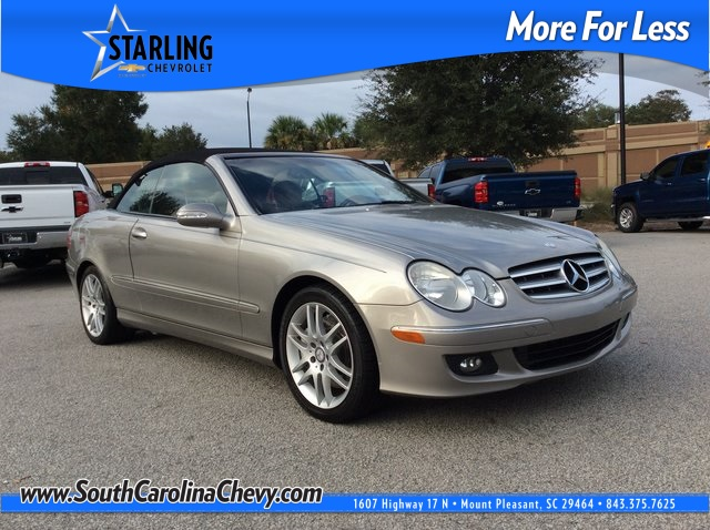 Pre-Owned 2008 Mercedes-Benz CLK CLK 350 RWD 2D Convertible