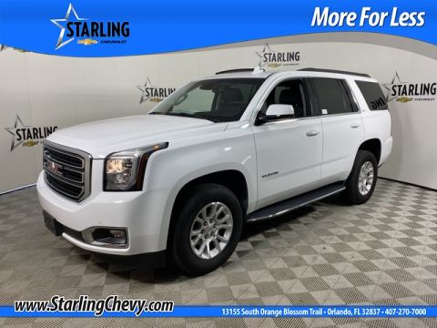 Certified Pre-Owned 2019 GMC Yukon SLT