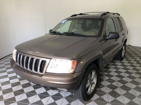 Pre-Owned 2002 Jeep Grand Cherokee Limited