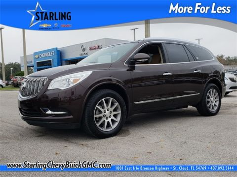 Certified Pre-Owned 2015 Buick Enclave Leather Group